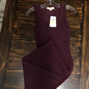New MICHAEL KORS fitted dress